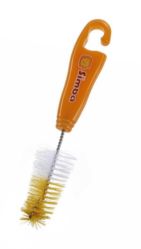 Simba Rotary Silicon Bottle Brush w/ Nylon Nipple Brush