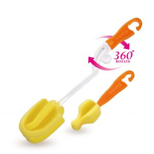 Simba Baby Rotary Spinning Bottle and Nipple Brush set