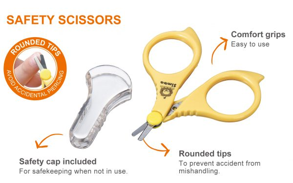 Simba Baby Safety Nail Scissors