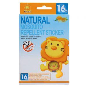 Simba Citronella Natural Mosquito Repellent Stickers (16 pcs)